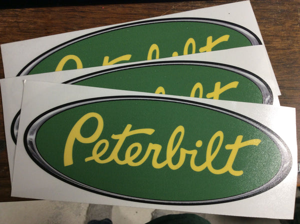 In-Stock Special - JD Green and Yellow Peterbilt Emblem Skin 3-Pack