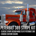 "63"" Peterbilt 389 ""Flying C"" Stripe Kit"