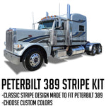 "63"" Peterbilt 389 Stripe Kit ""Accadian"""