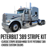 "63"" Peterbilt 389 Light Accadian Stripe Kit"