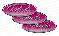 3-Pack of PETROTA Peterbilt Emblem Skins