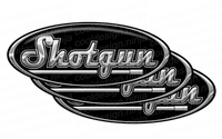 3-Pack of Shotgun Peterbilt Emblem Skins