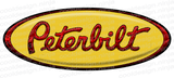 3-Pack Dark Yellow Peterbilt Emblem Skins
