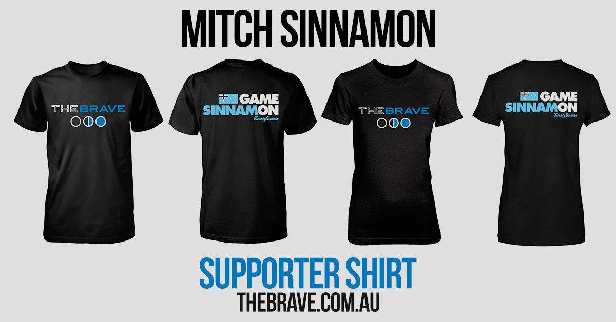 Mitch Sinnamon Games Supporter Shirts