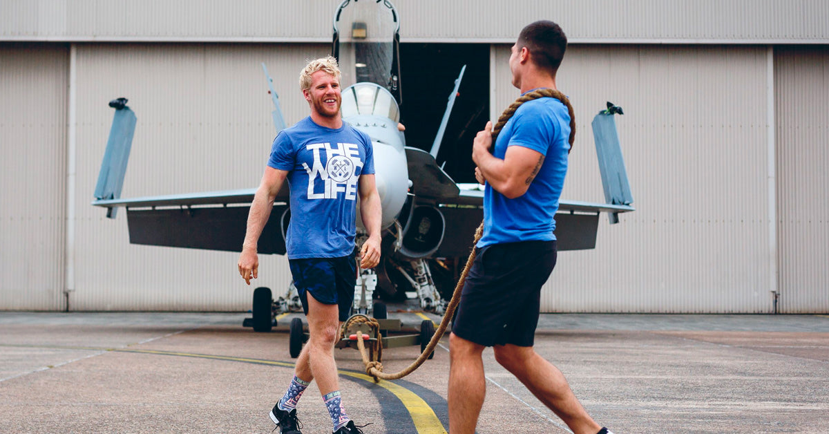 Joel Munro Jet Pull The Brave - CrossFit Athlete