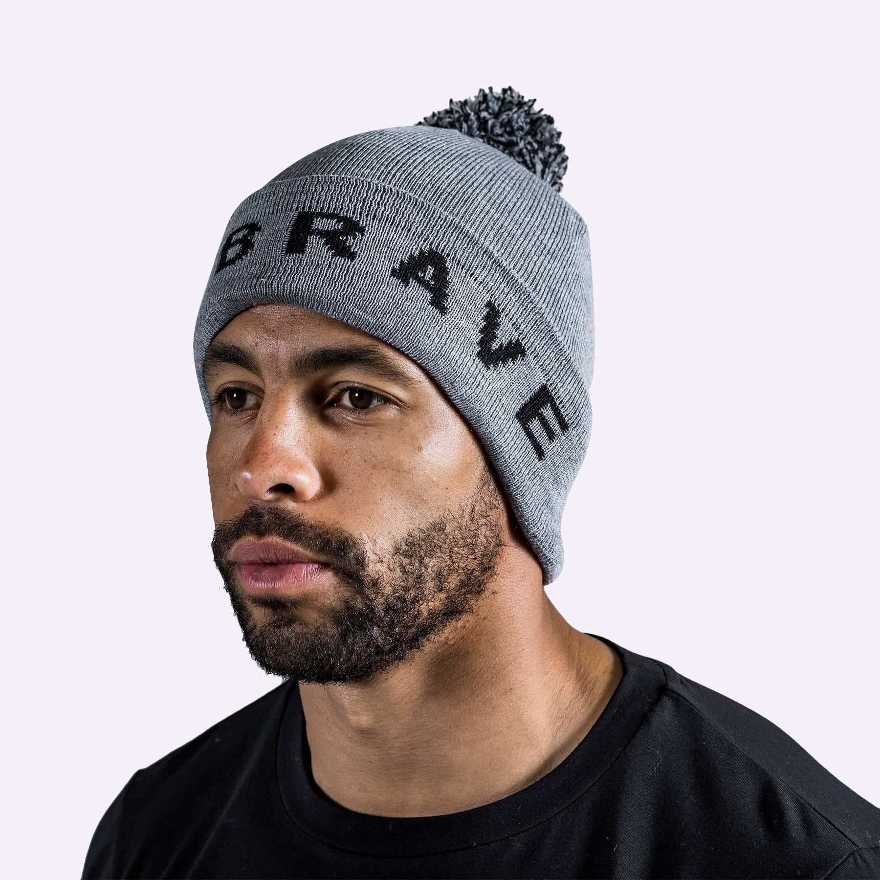 The Brave - Beanie - Charcoal Marl