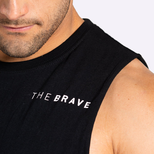 The Brave - Unisex Limitless Tank - Black