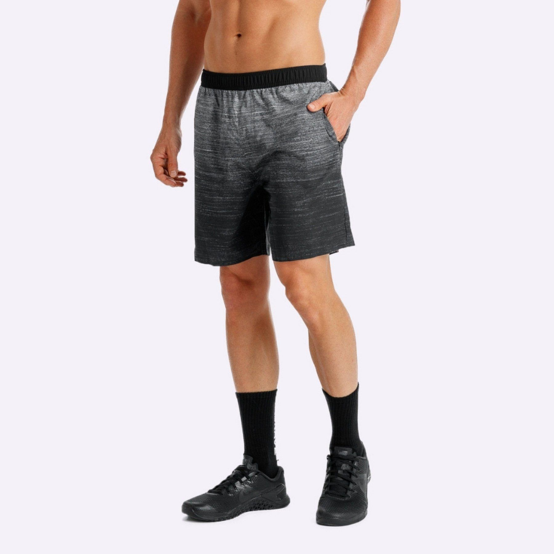The Brave - Cruiser Shorts - Black/Charcoal