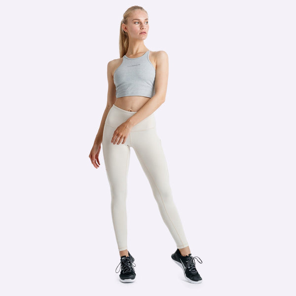 Women's Apparel - The Brave - Elevate 7/8th Tights - Stone