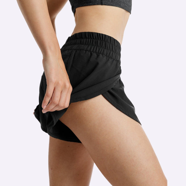 Women's Apparel - The Brave - Slipstream Shorts - Black