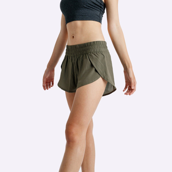 Women's Apparel - The Brave - Slipstream Shorts - Dark Olive