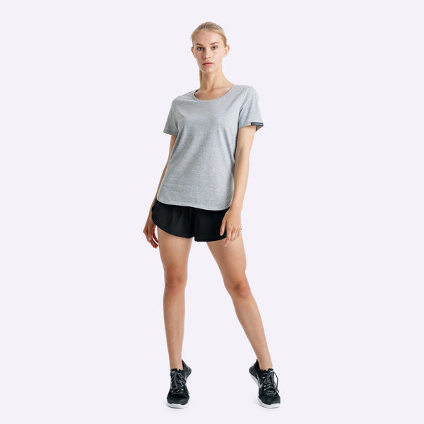 Women's Apparel - The Brave - Slipstream T-Shirt - Light Grey Marle