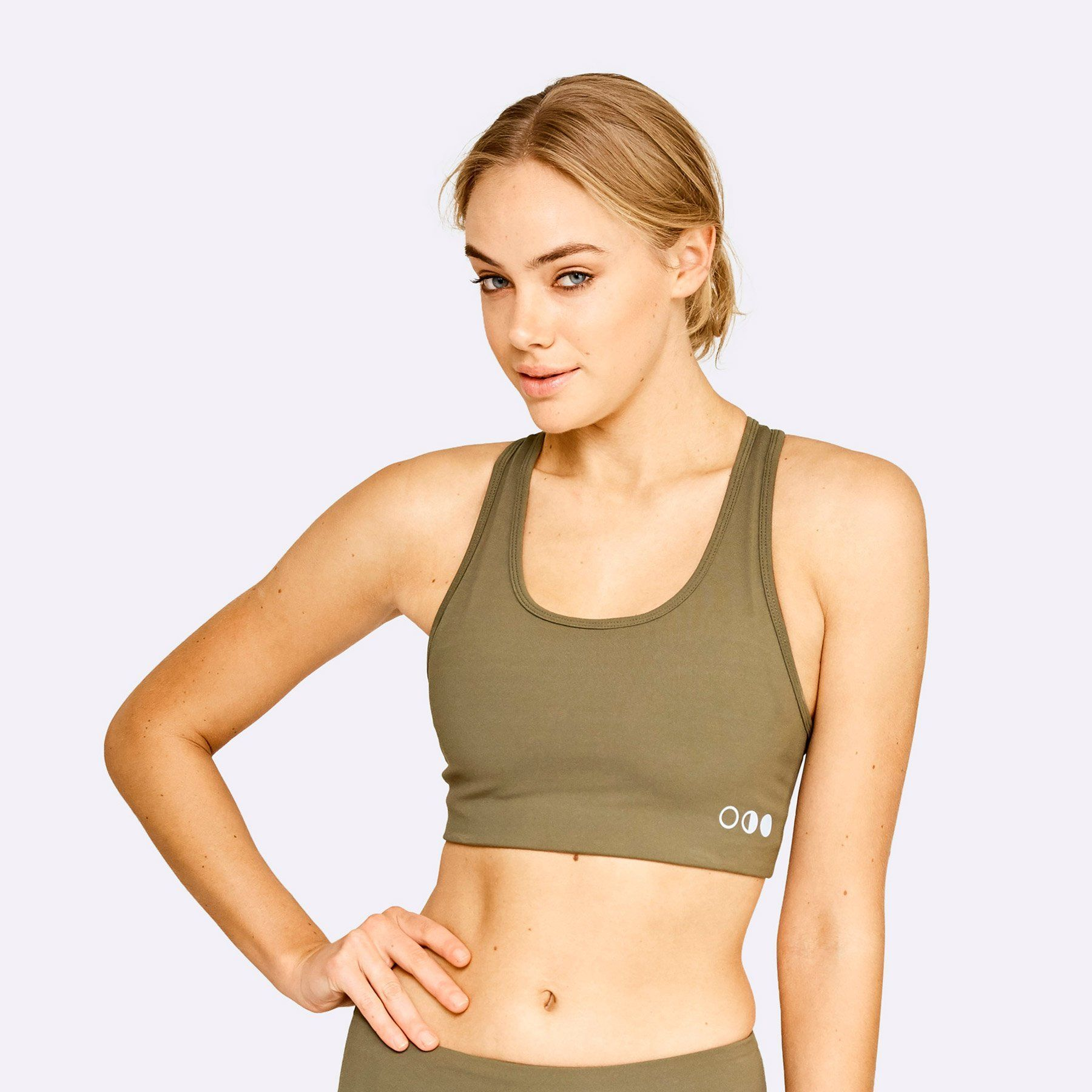 The Brave - Women's Core Bra - Dark Olive