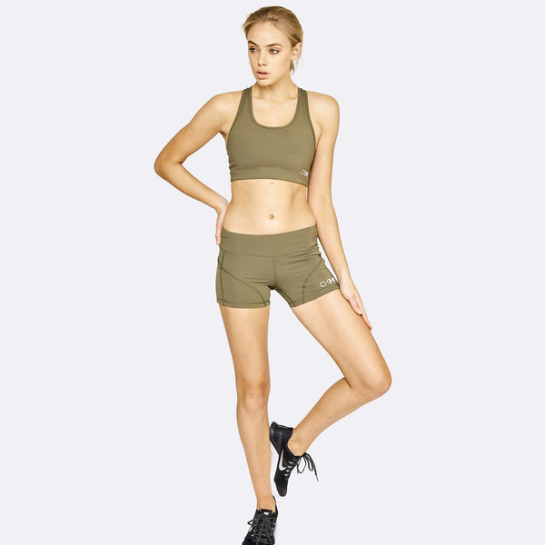 Women's Apparel - The Brave - Women's Core Bra - Dark Olive