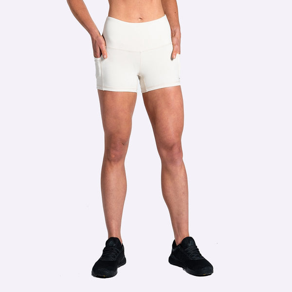 Women's Apparel - The Brave - Women's Elevate Shorts - Stone