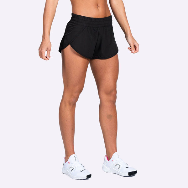 The Brave - Women's Slipstream Shorts - Black