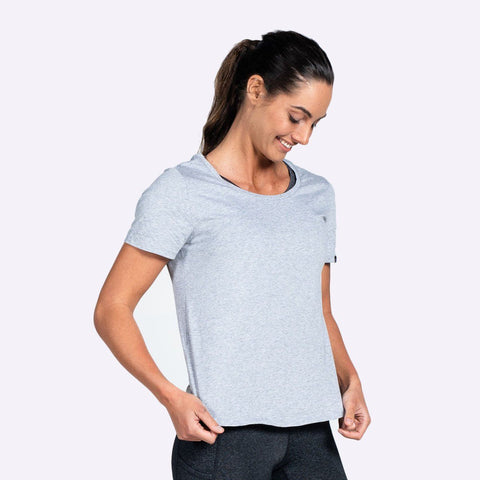 Women's Apparel - The Brave - Women's Slipstream T-Shirt - Light Grey Marle