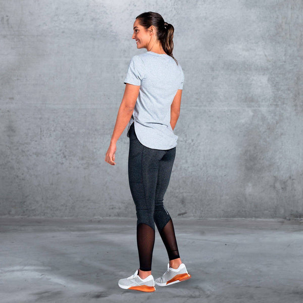 The Brave - Women's Slipstream T-Shirt - Light Grey Marle