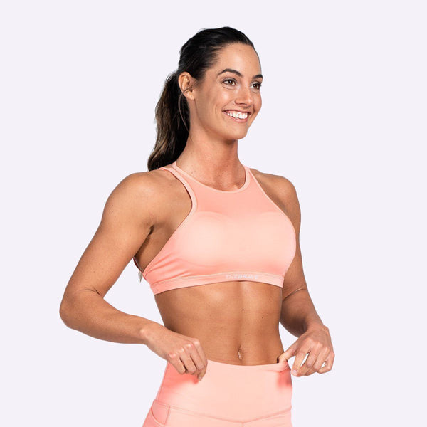 Women's Apparel - The Brave - Women's Suspend Bra - Coral Glow