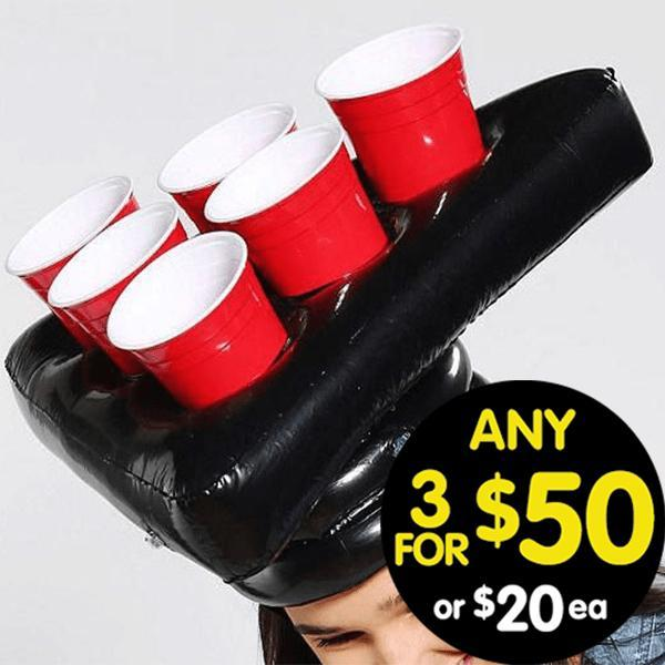 Drink King Pong Head