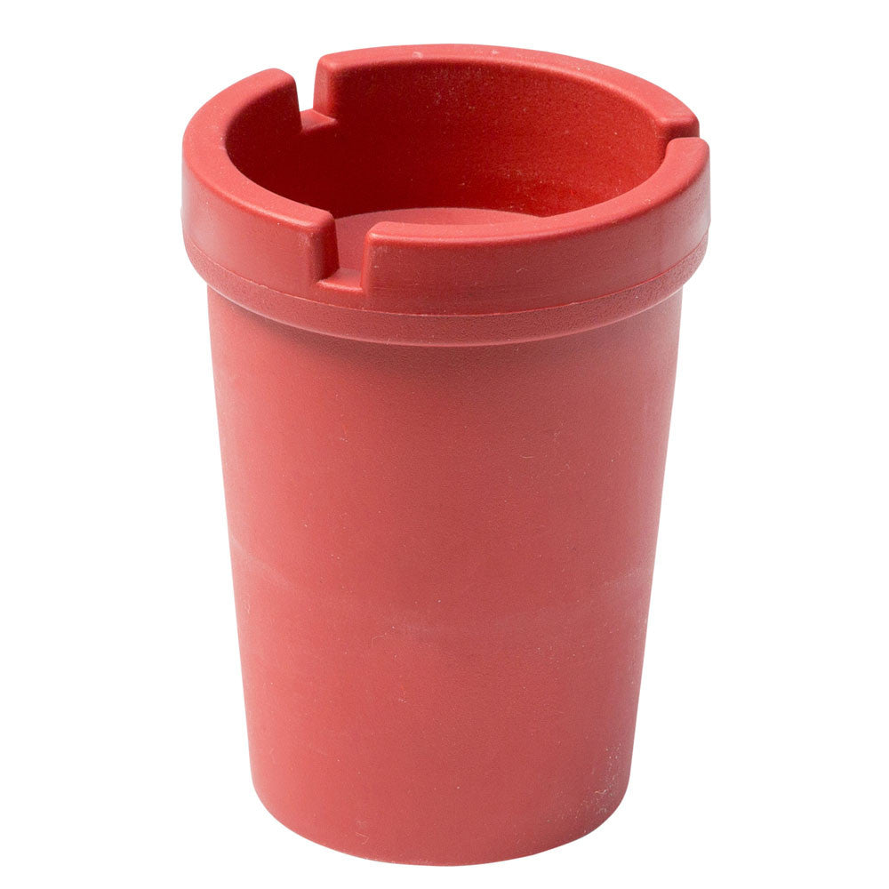 Red Ashtray Butt Bucket Round