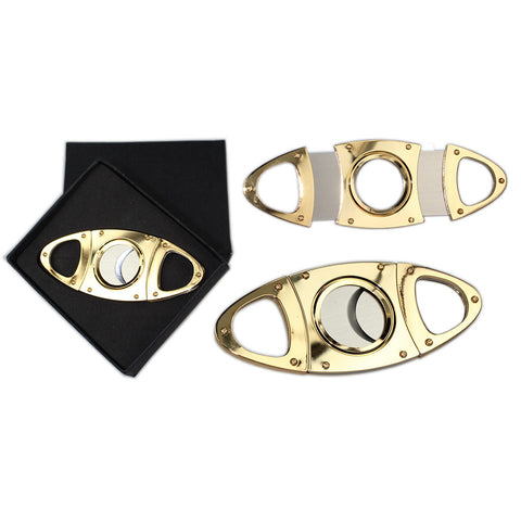 Gold Cigar Cutter