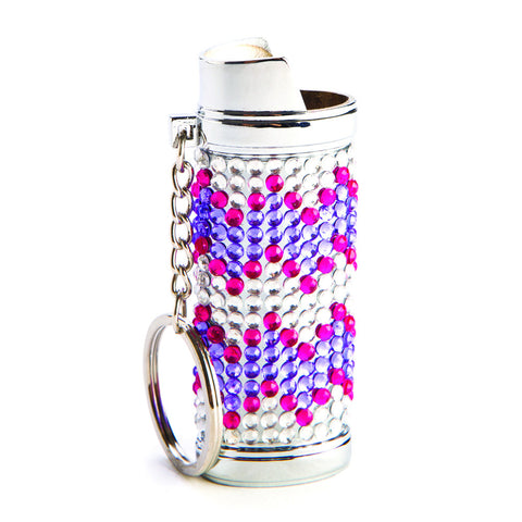 Diamante Lighter Cover
