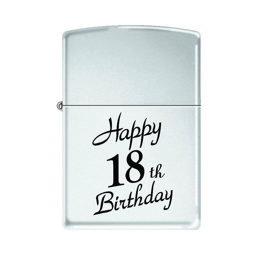 Zippo - Happy 18Th Birthday