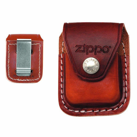 Zippo - Brown Pouch With Clip