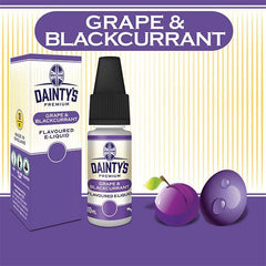 Dainty's Grape Blackcurrent Juice 10ml - PRE ORDER