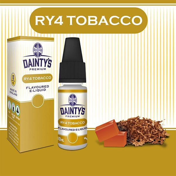 Dainty's Ry4 Tobacco Juice 10ml - PRE ORDER