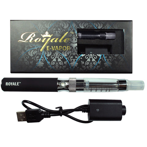 E Vapour Vape Pen Rechargeable Clear With USB Charger