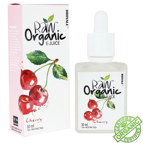 Raw Organic E-Juice 30ml Cherry