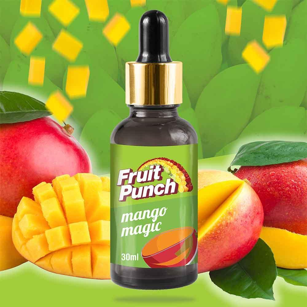 E Vapour E Juice Fruit Punch Mango Magic