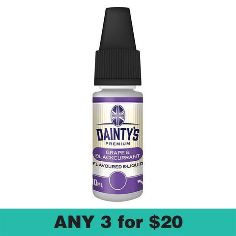 Dainty's Grape Blackcurrent Juice 10ml