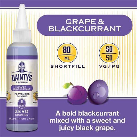 Daintys Grape Blackcurrent Juice 80ml - PRE ORDER