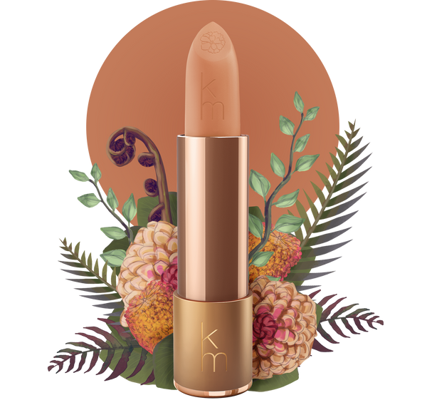 Karen Murrell 09 Sand Storm shade all natural creamy formula long lasting lipstick