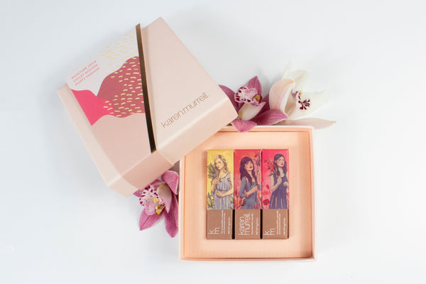 3 Piece Lipstick Gift Set - 01, 05, 17