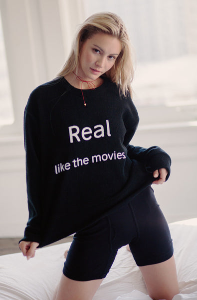 Real Pullover (Black)