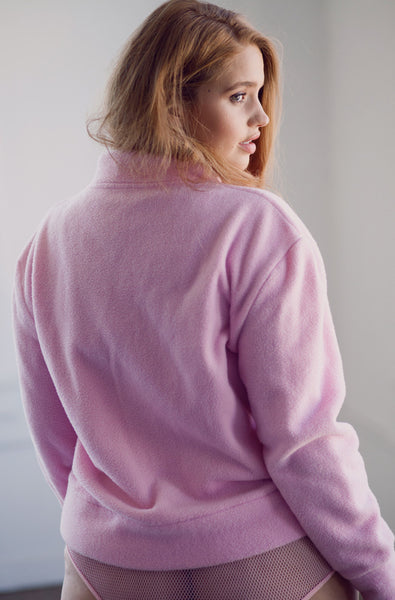 Friday I'm In Love Pullover (Cotton Candy Pink)