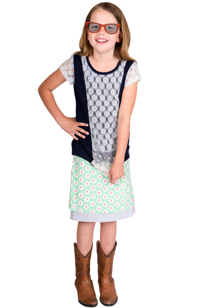 Treebird Girls Reversible Skirt - Tava  - 2