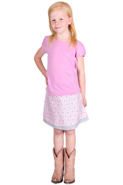 Treebird Girls Reversible Skirt - Tava  - 3