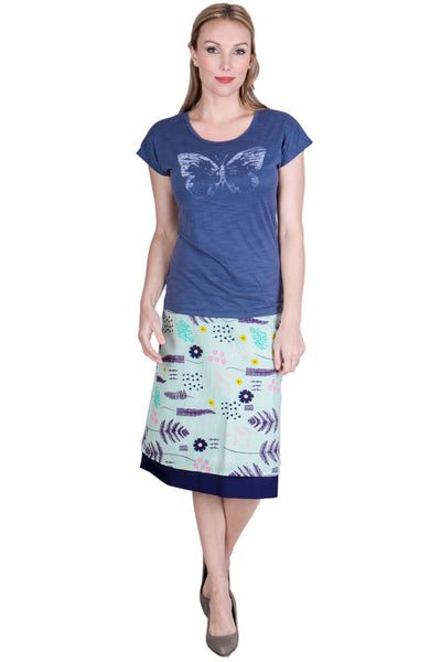 Running Free Long Reversible Skirt - Tava  - 4