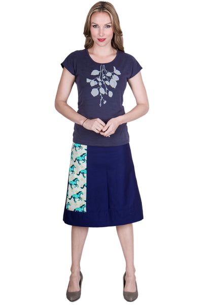 Running Free Long Reversible Skirt - Tava  - 2