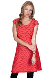 Salmon Reversible Dress - Tava  - 1