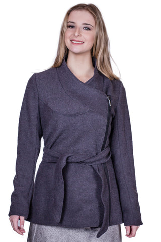 Heyday Coat in Charcoal - Tava  - 1