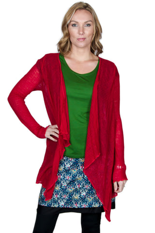 Ruby Wool Blend Wrap - Tava  - 1