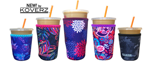 Iced Coffee & Soda Coolies - 3 Sizes - CLICK TO ORDER ON AMAZON (NOT SOLD OUT)