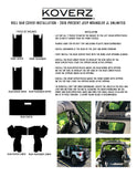 JEEP JL UNLIMITED ROLL BAR COVERS