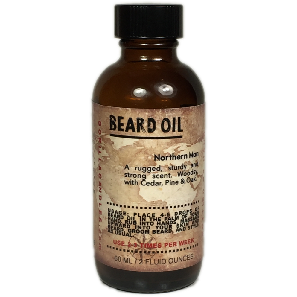 Beard Oil - Western Man